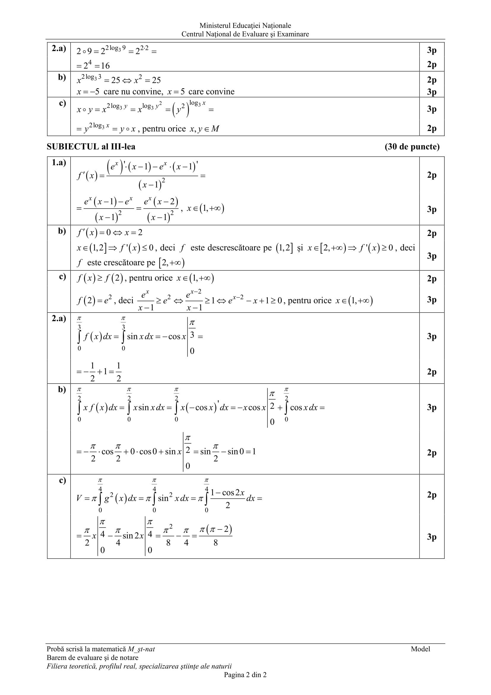 E_c_matematica_M_stiinte ale naturii_2018_varianta_model