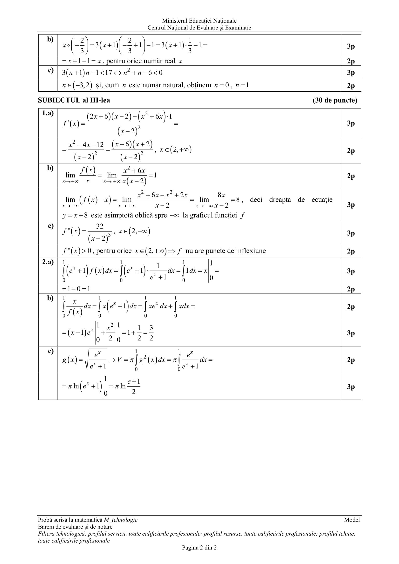 E_c_matematica_M_Filiera Tehnologica_2018_varianta_model